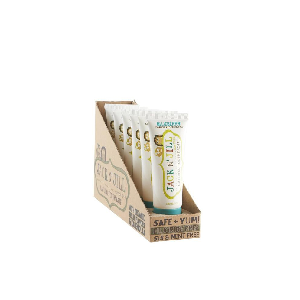 Jack N Jill Natural Toothpaste Organic Blueberry 50g Kode M863 Shopee Indonesia