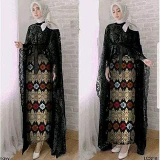 Jual Kebaya Modern Brukat Baju Muslim Abju Pesta Murah Berkulitas