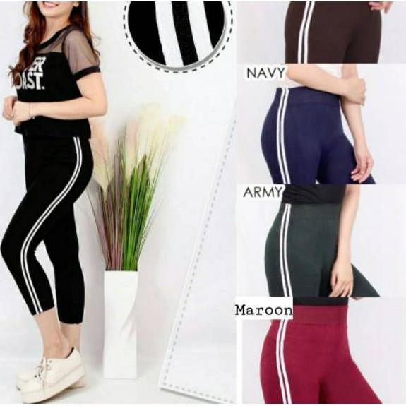 Model Baru Celana Legging 7 8 2 List Import Kr2 Shopee Indonesia