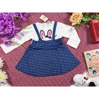 Dress pesta tartan pakaian baju anak bayi 3 - 18 bulan lucu murah pakaian  ulang tahun 0884bf0590