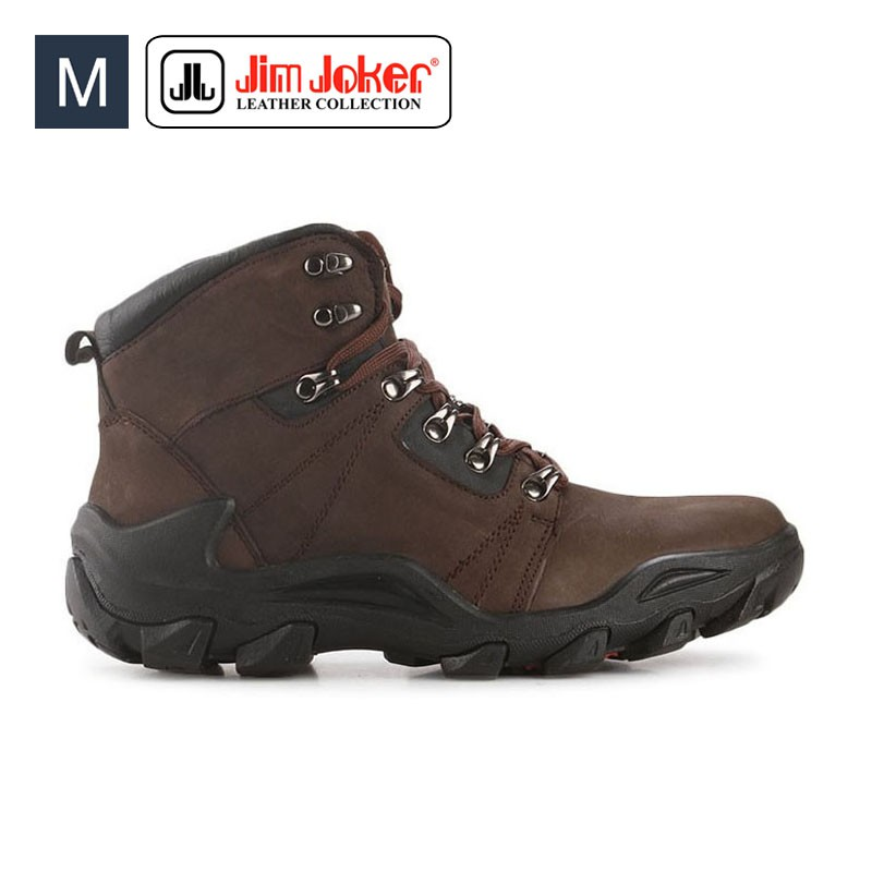 Sepatu Pria Jim Joker Oslo 02B Boots Leather Brown Men  1cfc84c367