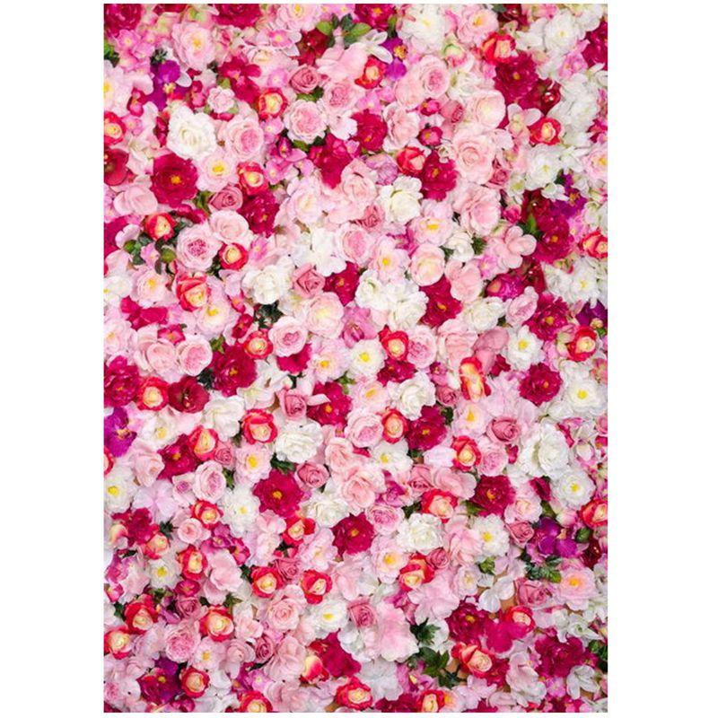 Backdrop Background Motif Bunga Mawar Ukuran 3x5Ft Untuk Foto Pernikahan    Shopee Indonesia