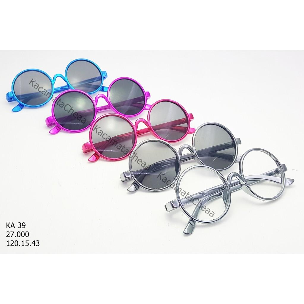 Kacamata Vintage Bentuk Bulat Bahan Metal untuk Bayi  e73d0e823a