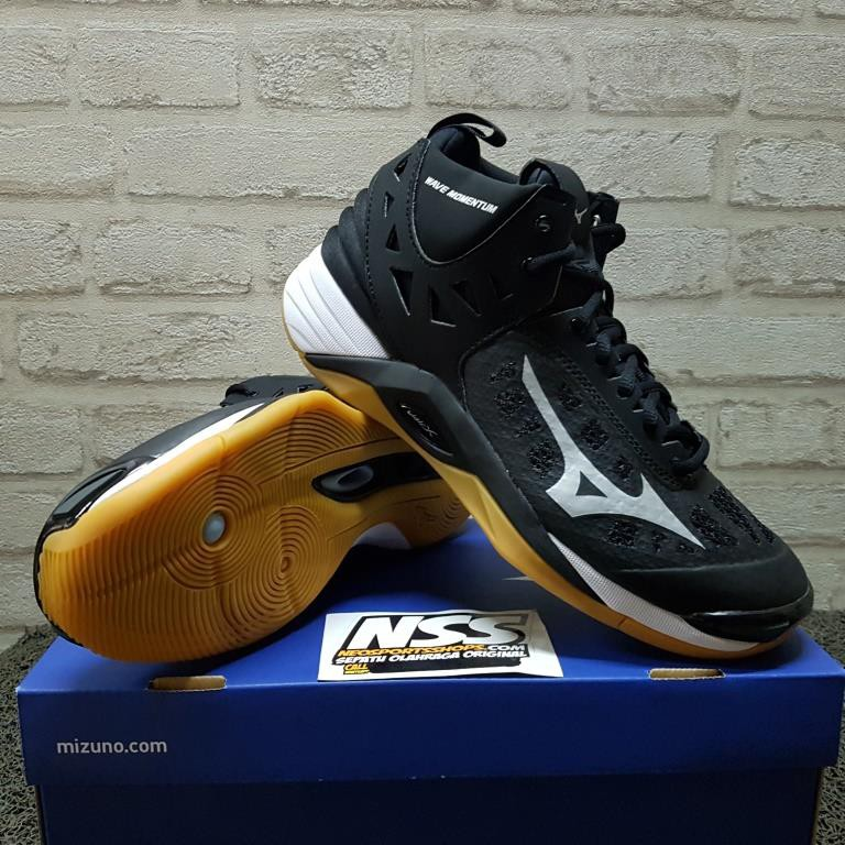 Sepatu Volly Mizuno Wave Lightning Z5 Mid (Fiery Coral)  28826cc810