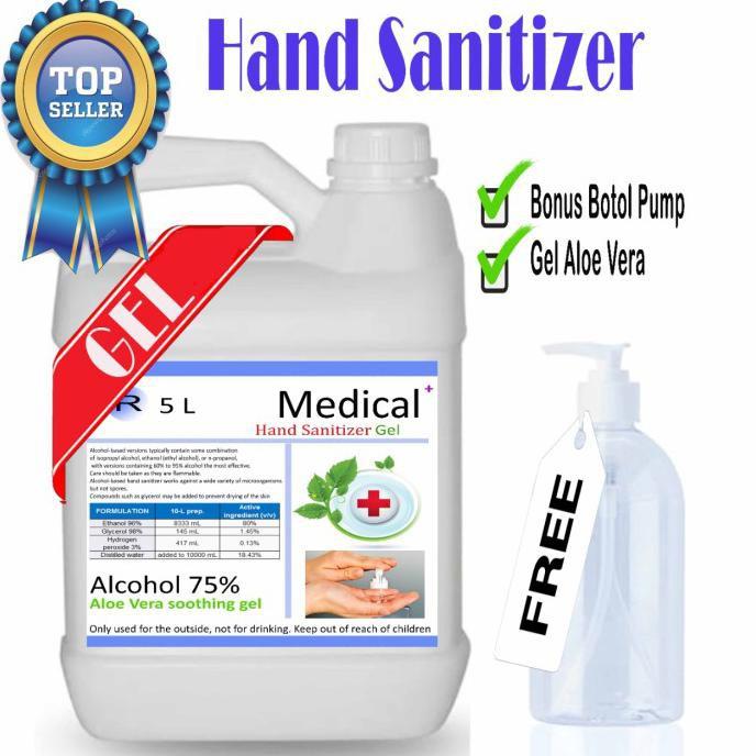 hand sanitizer gel 5liter