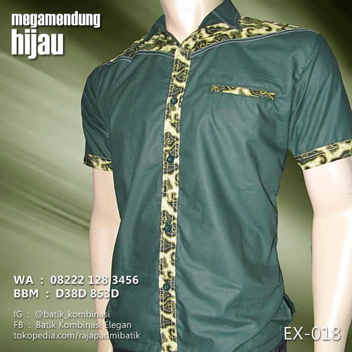 880 Koleksi Foto Desain Kemeja Polos Kombinasi Batik HD Paling Keren Yang Bisa Anda Tiru