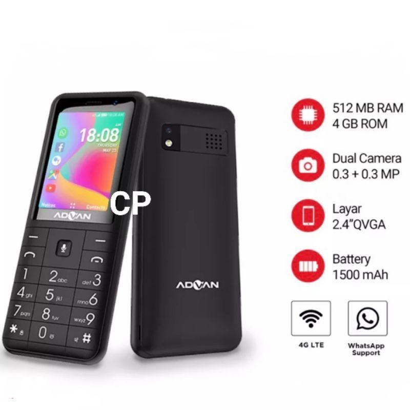 Termurah!! Advan Hammer HP HAPE ONLINE - 4G LTE - Bisa WhatsApp -  ORIGINAL - GARANSI RESMI