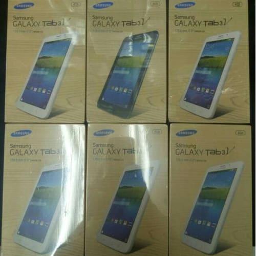 [Tab] Samsung tab 3V baru ,, tablet - Putih Tablet