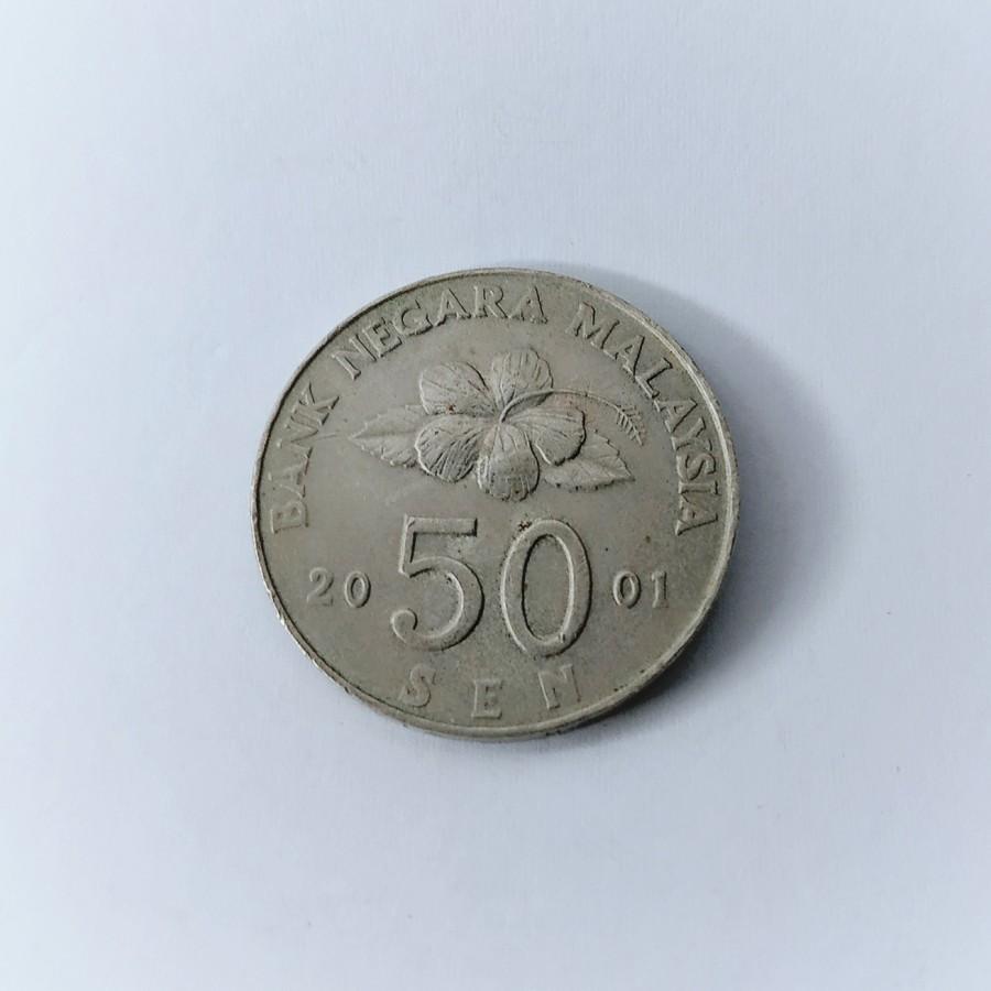 Koin 50 sen 2001 Malaysia, Koin lama Malaysia