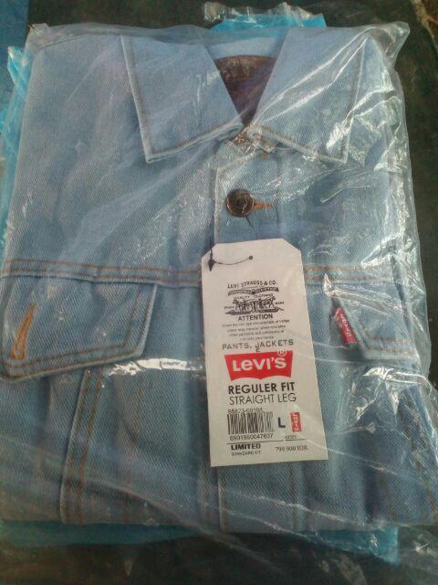 Gratis ongkos kirim   bayar di tempat COD Jaket jeans   jaket ... 2dece72ee0