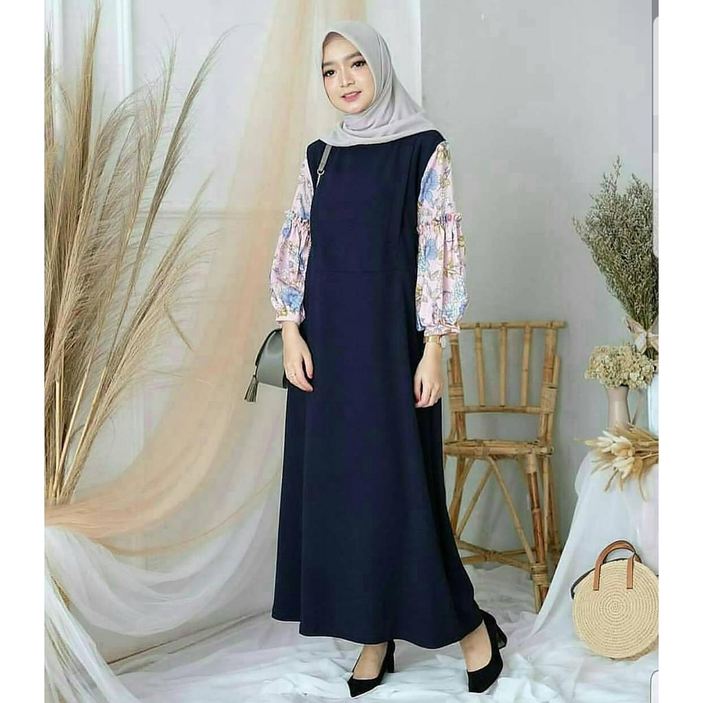 Paling Laris Huzra Dress Muslim Gamis Termurah Shopee Indonesia