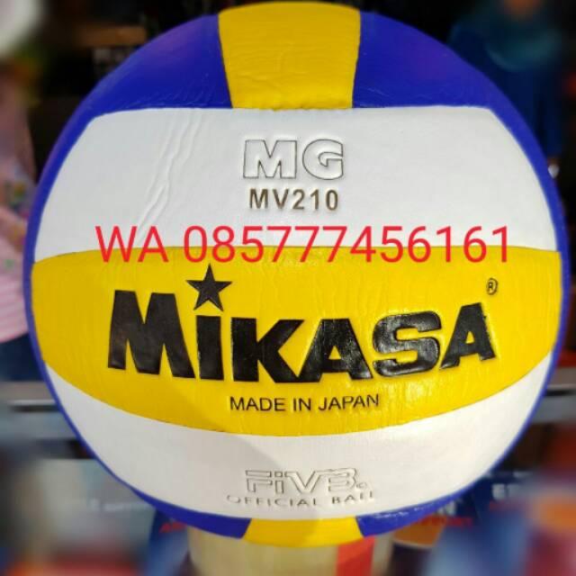 BARANG BARU BAGUS TERBAIK NEW ASLI KEREN ! Bola Volly Mikasa MV210   Bola  Voli Mikasa MV210   Bola  58a9818f56
