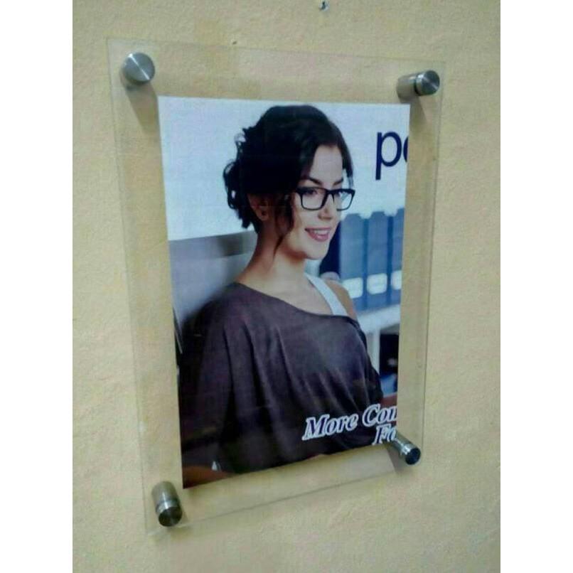 Frame Acrylic/Poster Frame Akrlik A4/2mm 26x35 cm   frame foto   frame foto menarik