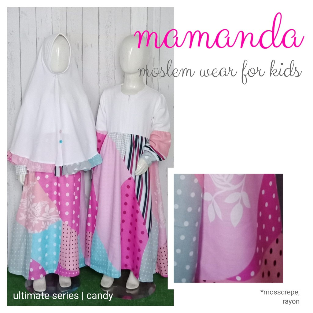 Gamis Anak Candy Ultimate Series by Mamanda