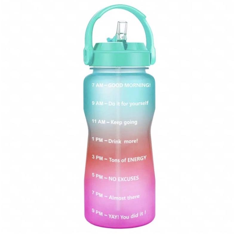 Quifit Botol Air Minum 2 Liter with Straw