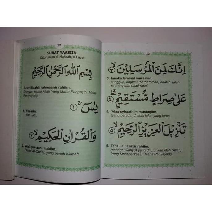 Terlaris Buku Yasin Tahlil Dan Doa Nurbuat