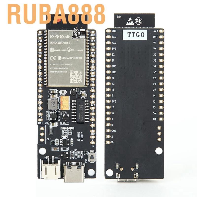 ESP32-WROVER-B Bluetooth und WiFi-Modul mit 4 MB Flash Diyeeni Pin-Modul 500 mA Lithium-Batterie-Schnittstelle f/ür Arduino//MicroPython
