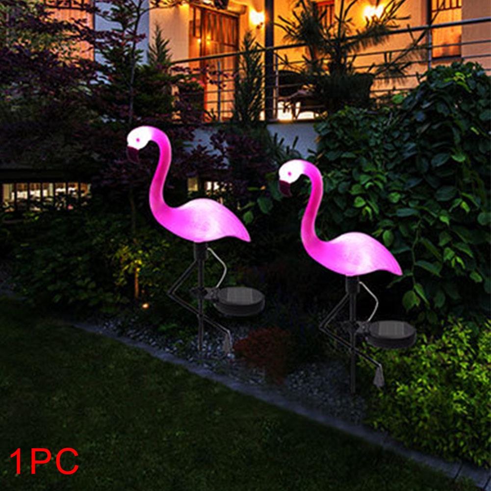 Garden Flamingo Waterproof Outdoor Pink Decoration Sculpture