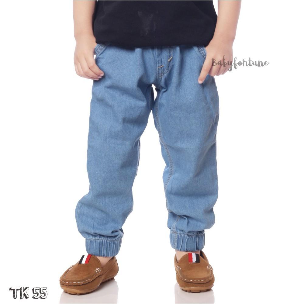 Jogger Semi Jeans 1 5 Tahun Maxkenzo Celana Anak Berkualitas Grosir Warna Shopee Indonesia