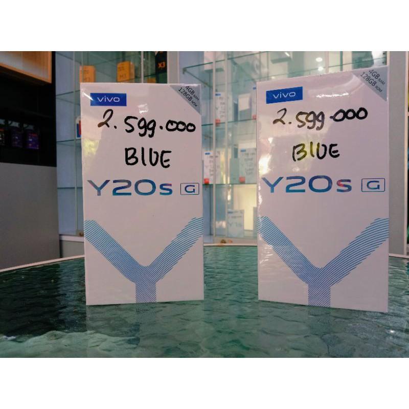 VIVO Y20S G Ram 4/128gb bergaransi resmi 1 tahun & kredit 12 kali akulaku