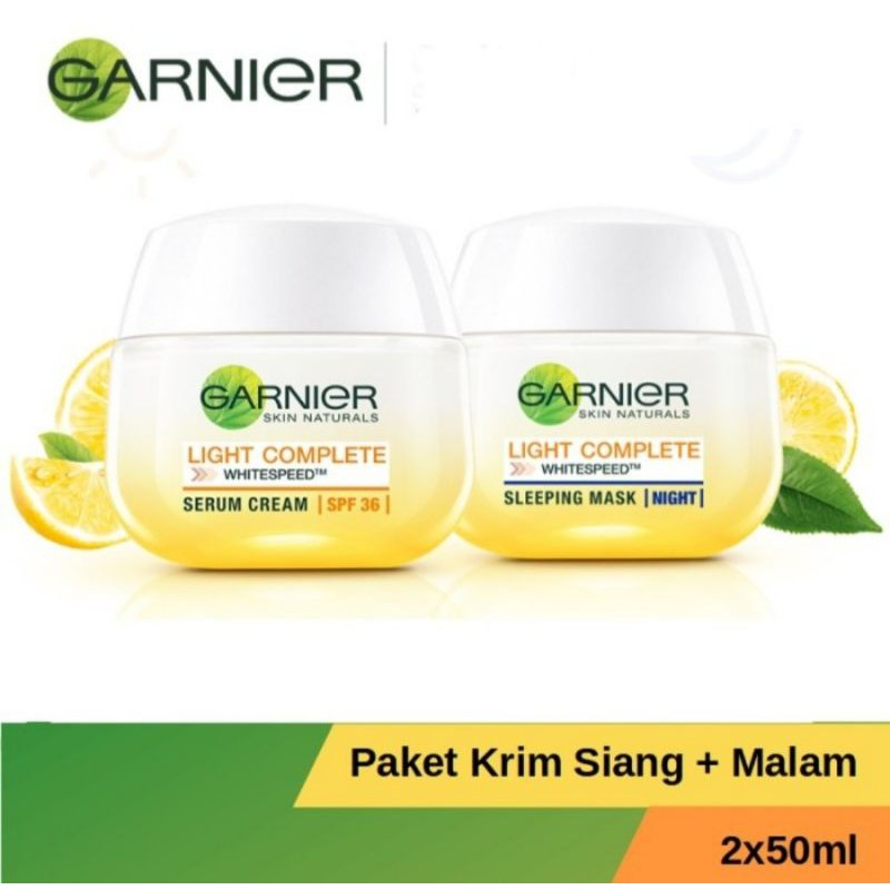 GARNIER LIGHT COMPLETE KRIM SIANG/MALAM