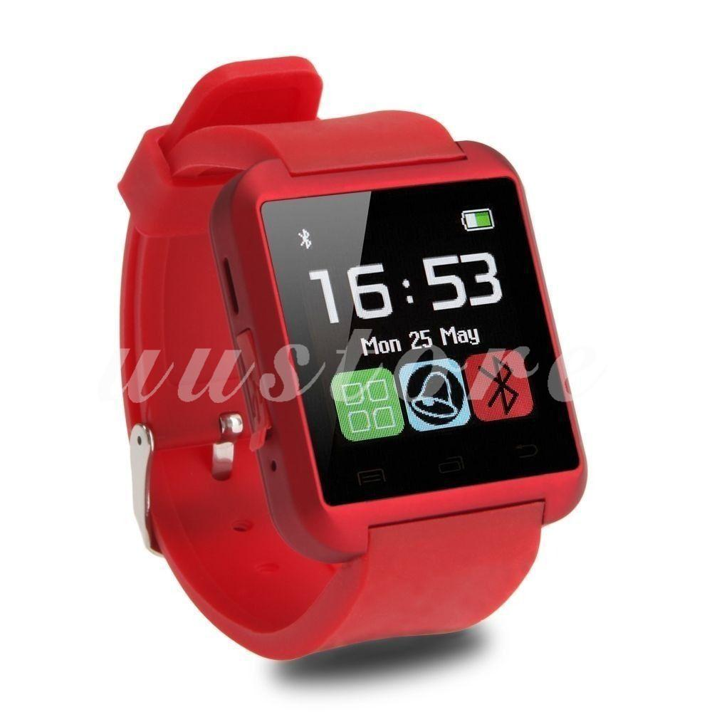 U8 Smartwatch Bluetooth Warna Merah untuk Android / iOS / iPhone | Shopee Indonesia