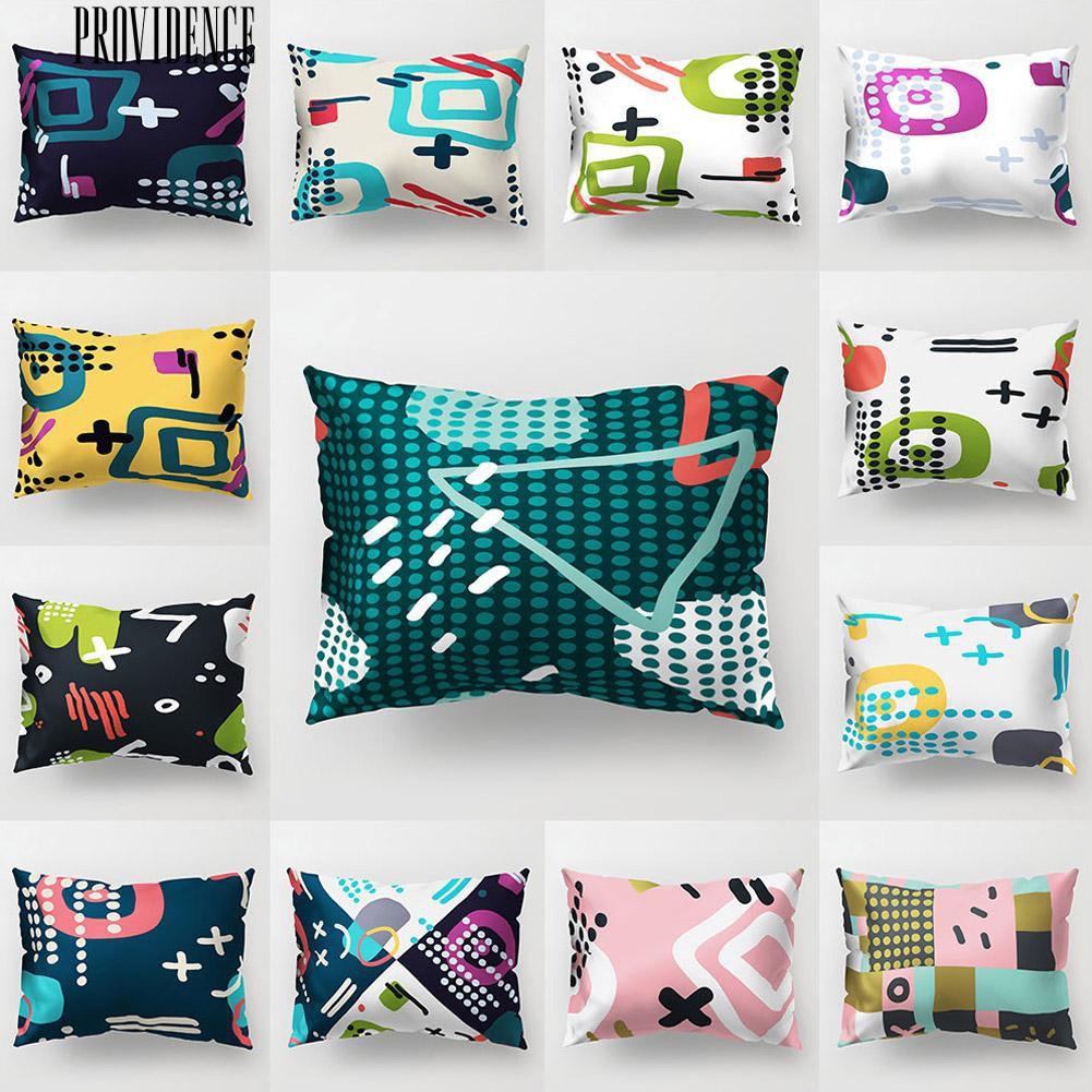 18/'/' cartoon cotton linen cute dog Pillow Case Sofa Car cushion cover Home Decor