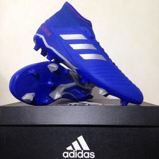 fd093c44c6b7 Sepatu Bola Adidas Predator 19.3 FG Bold Blue Silver BB8112 Original BNIB