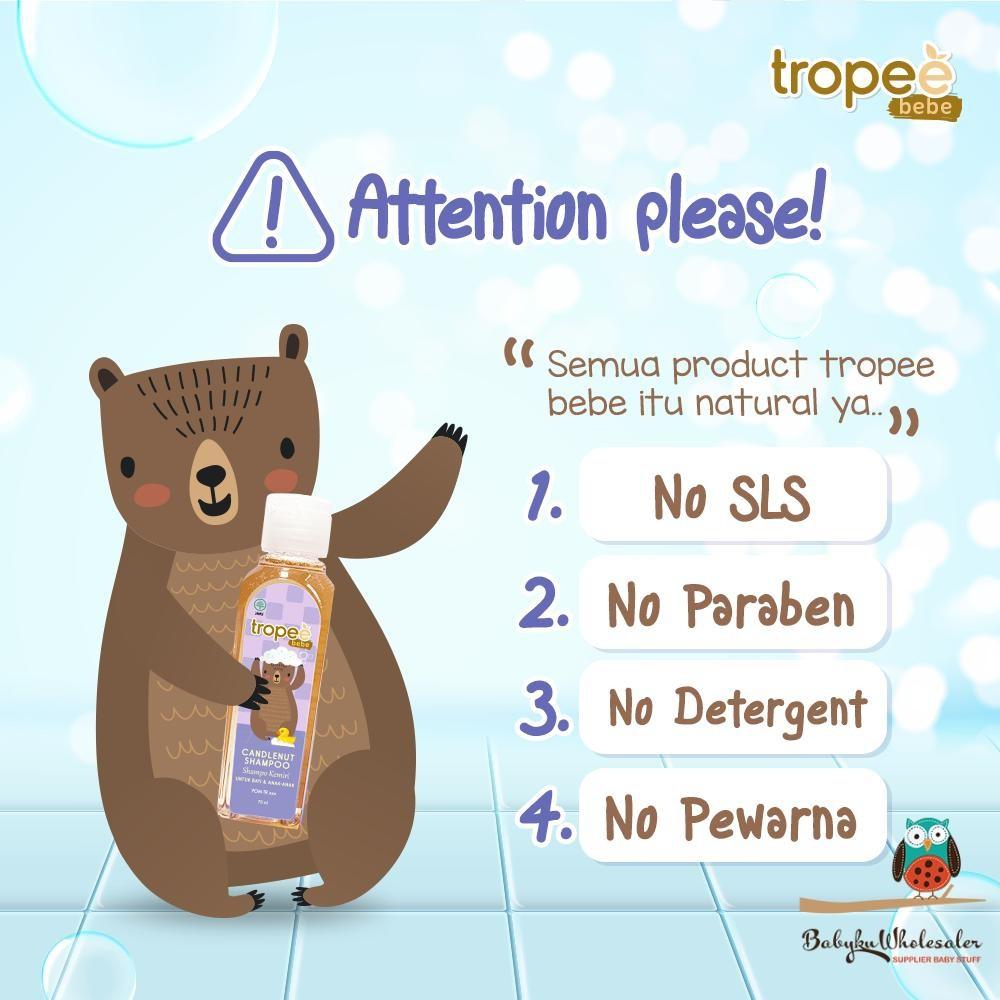 Tropee Bebe Candlenut Shampoo 100ml-3