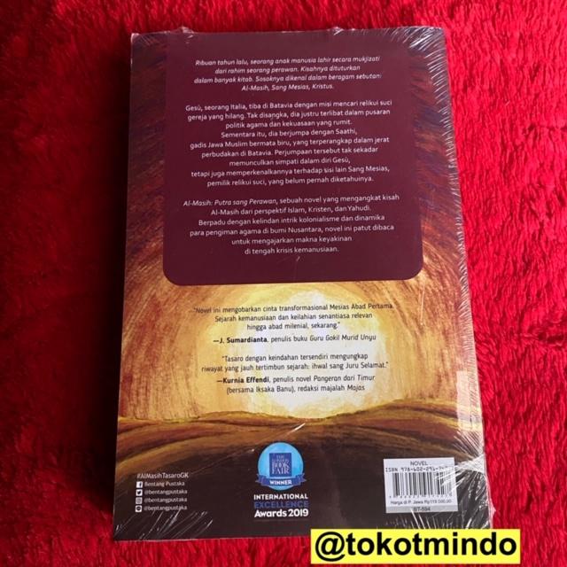 Al Masih Putra Sang Perawan Tasaro Gk Edisi Ttd Penulis Shopee Indonesia