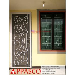 Pintu Teralis Minimalis Modern Di Bcc Bogor Shopee Indonesia