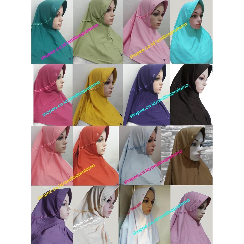 Kerudung Rabbani Innova Size M Kerudung Sekolah Rabbani Rabani Serut Murah Discount Terlaris Shopee Indonesia