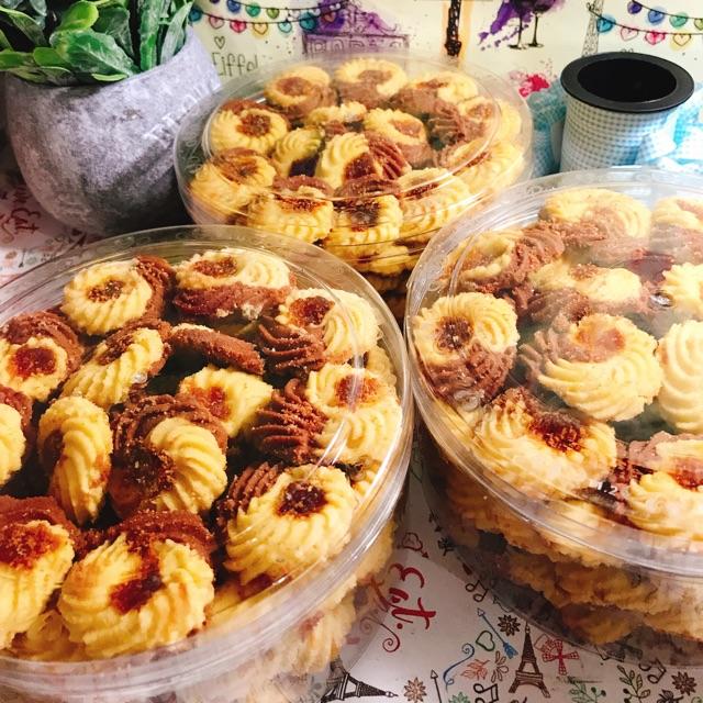 Semprit Kuning Coklat Special Kue Kering Kue Lebaran Kue Toplesan Jajanan Pasar Kue Acara Shopee Indonesia