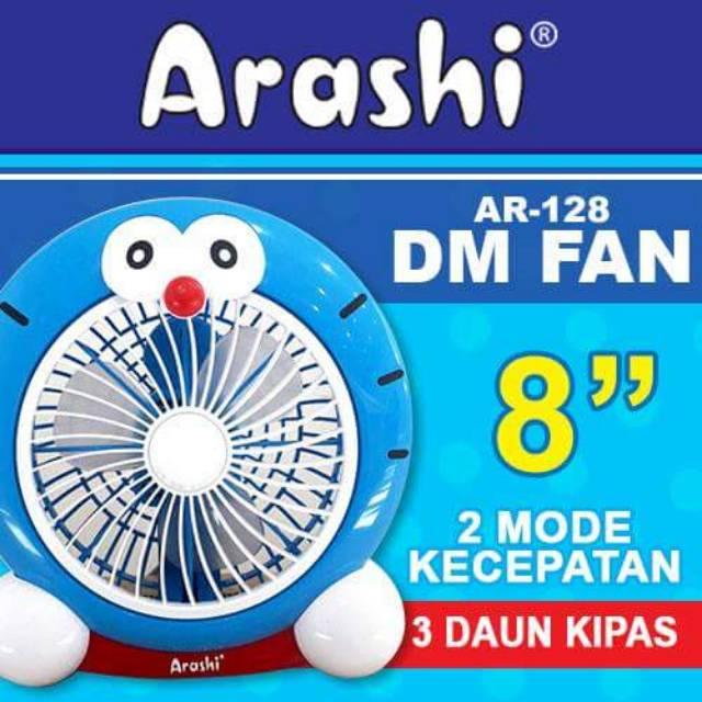Kipas Angin Meja 8 U0026quot  Arashi Ar 128 Dm Fan Doraemon