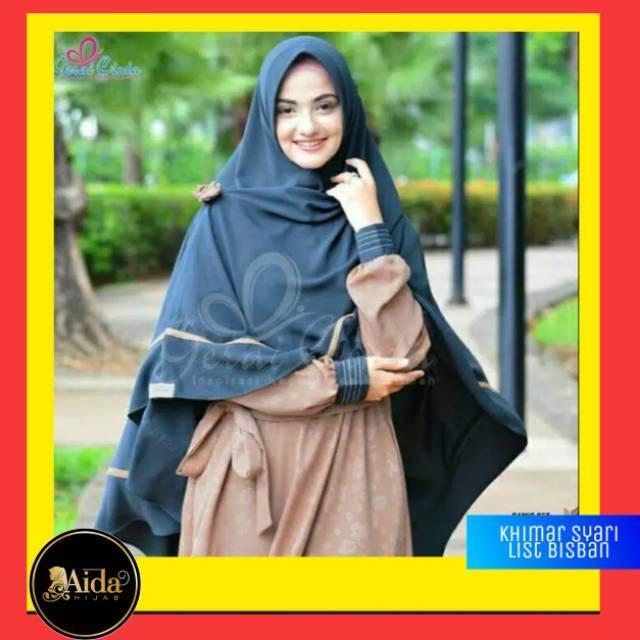 Jilbab Khimar Syar I Jilbab Instan Khimar Syari Khimar Kerudung Syari Kerudung Hijab Jilbab Shopee Indonesia