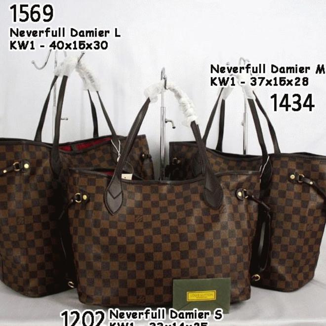 Hot Promo Tas Lv Neverfull Monogram Size M Mono Semi Super Louis Vuitton  0f0491916b
