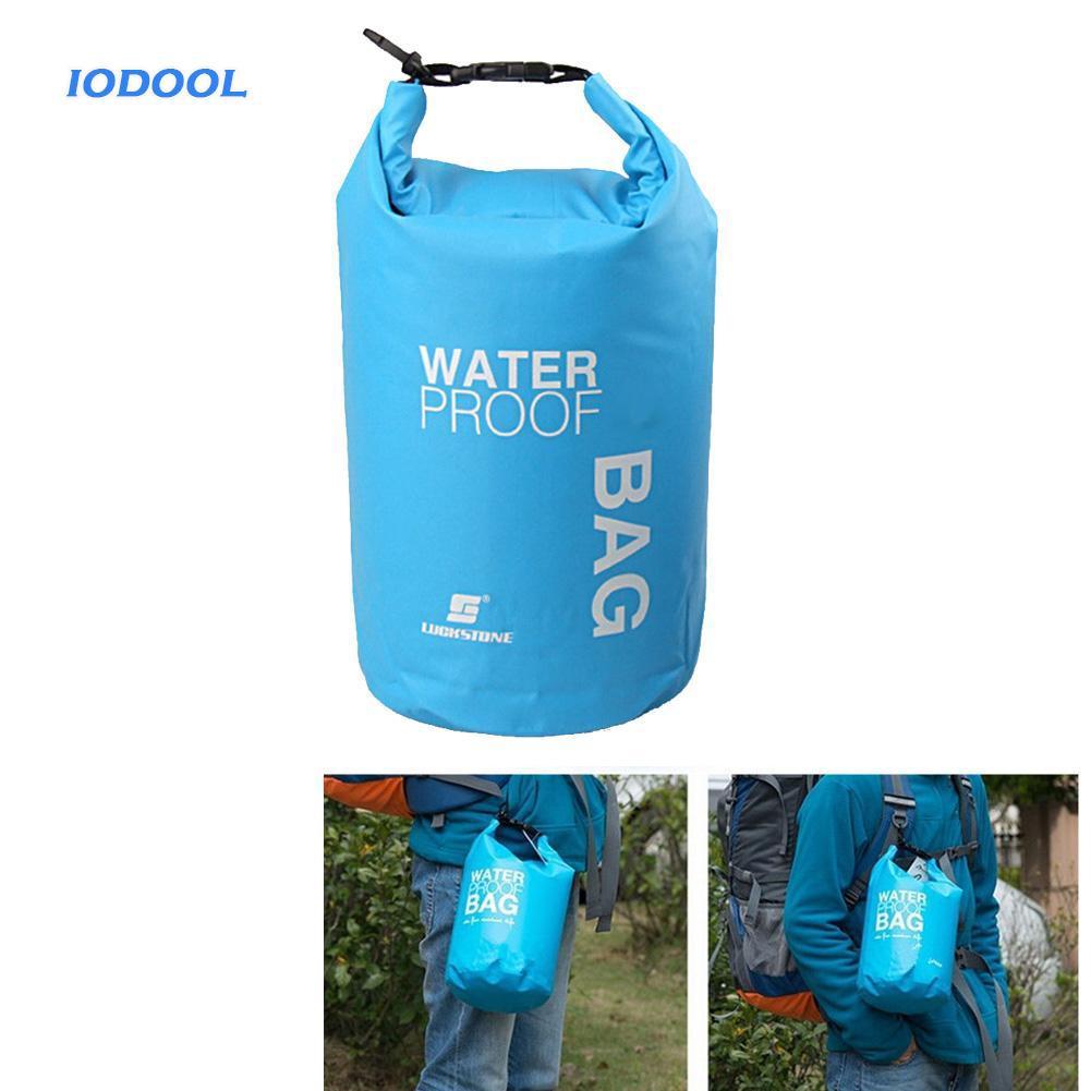8L-15L Waterproof Dry Bag Canoe Kayak Boating Camping Swimming Floating Sack
