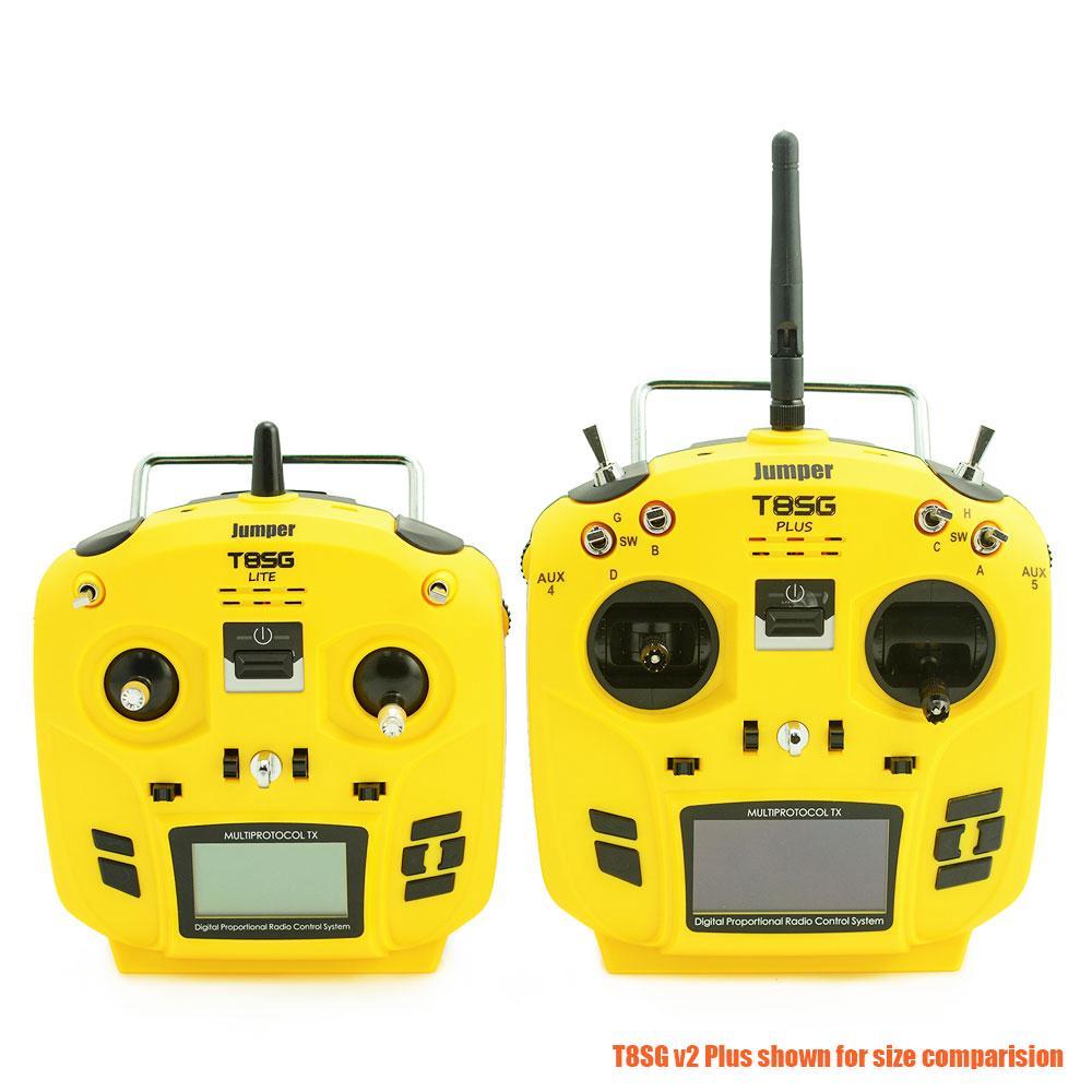 [Bayar Di Tempat]Jumper T12 OpenTX 16CH Radio Transmitter JP4-in-1 RF  Module Frsky JR Flysky