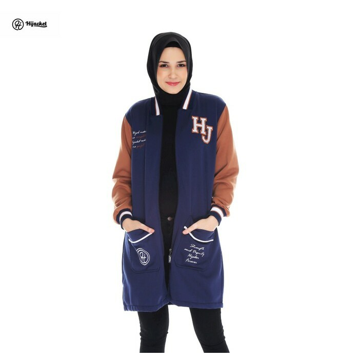 1  Jaket Hijab Cantik HJ BX Magnum - Hijaket   Hijacket Premium Fleece  161eafc215