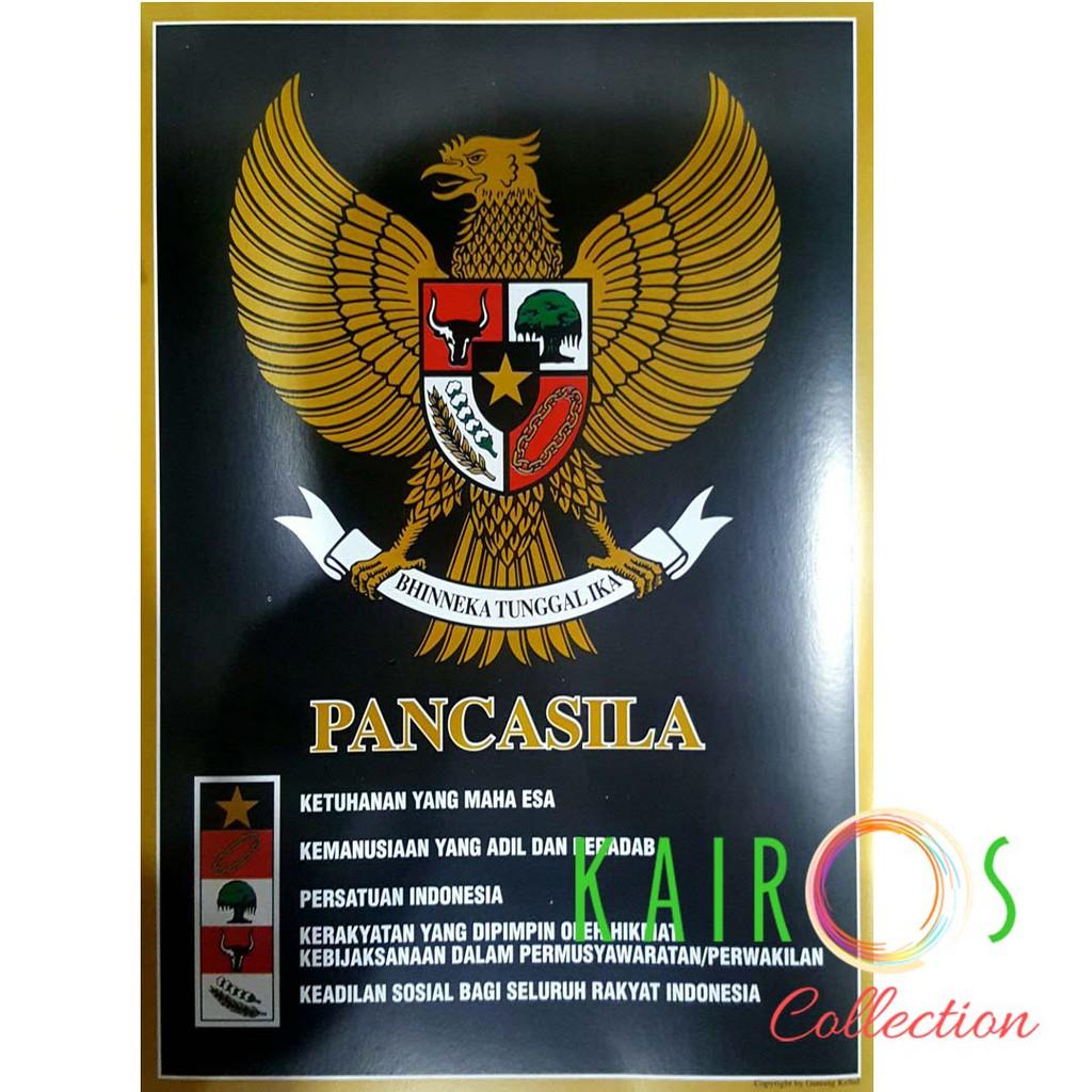 Poster Edukasi Garuda Pancasila