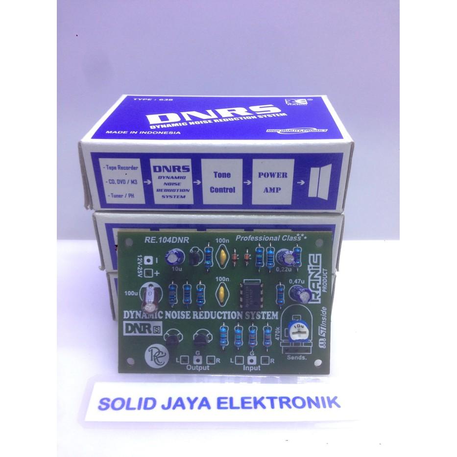 Cara menghilangkan noise pada tone control,kit dinamic noise reduction system dnrs ranic 638 rangkaian dnrs ranic