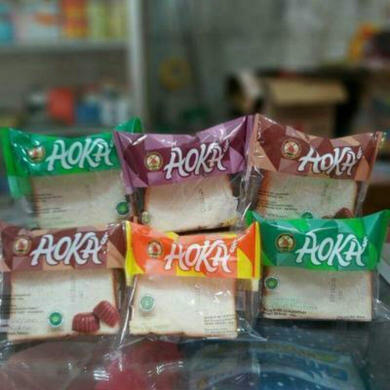 Aoka Roti Panggang Aneka Rasa Termurah Enak