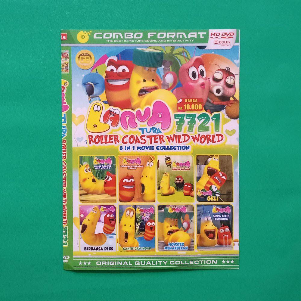 DISKONN KASET Larva Collection DISKONN KASET DVD Kartun Anak