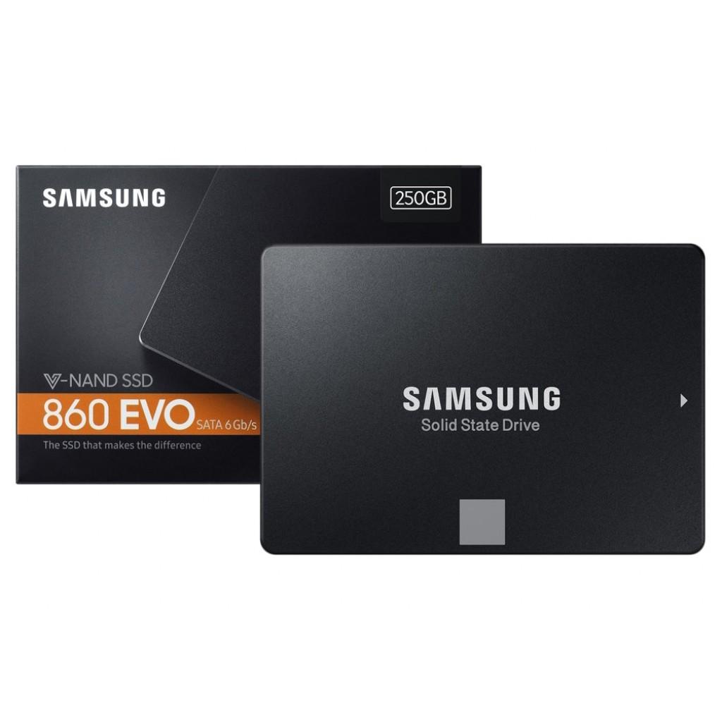 "Samsung 250GB 860 EVO SATA III 6 Gb//s 2.5/"" V-NAND Internal Solid State Drive SSD"