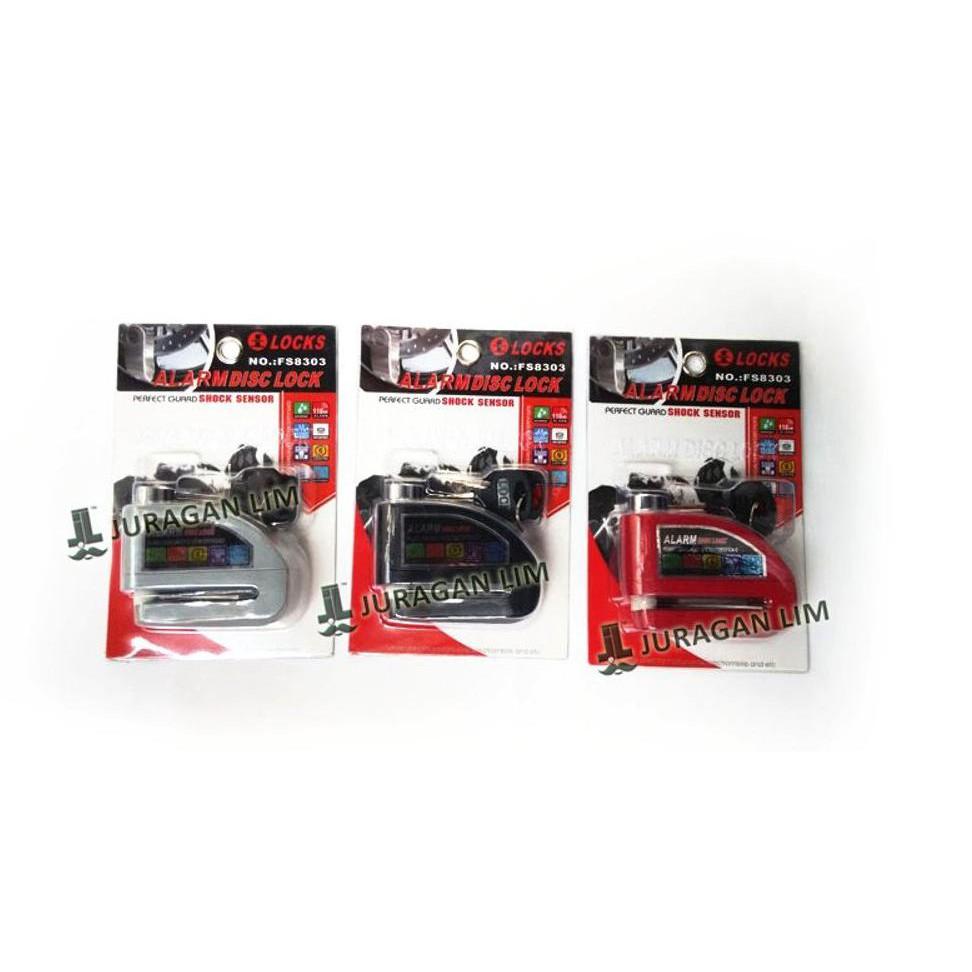 Kunci Disc Motor Universal Gembok Pengaman Anti Lock Triangle Cakram Tdr Maling Shopee Indonesia