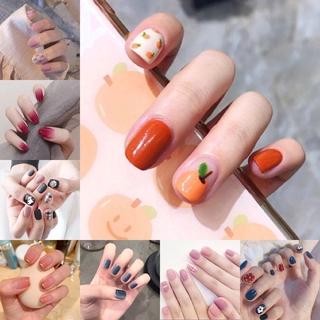 24PCS Cute Fake False Nails with Free Glue Manicure R021-R040 thumbnail