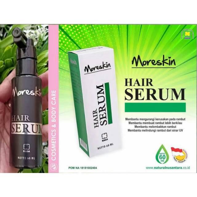 Original Moreskin Hair Serum Serum Untuk Rambut Nasa Shopee Indonesia