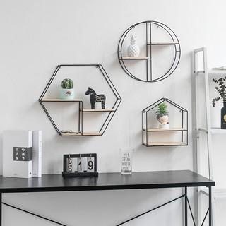 Is Sederhana Rak Hiasan Dinding Ruang Kreatif Perhiasan Ruang Tamu Rumah Liontin