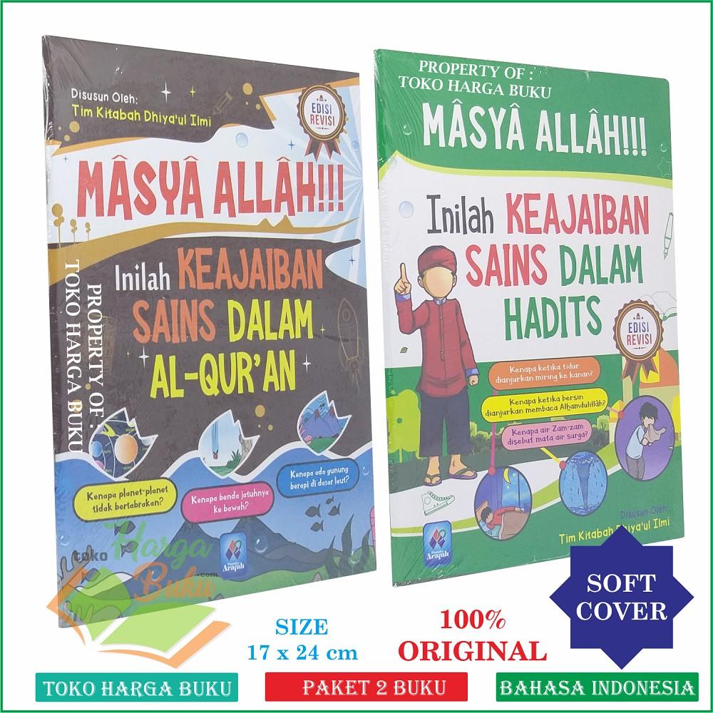 Masya Allah Inilah Keajaiban Sains Dalam Al Quran Dan Hadits Full Colour Shopee Indonesia