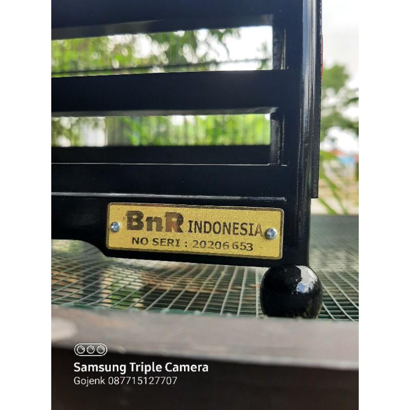 sangkar kotak BnR black japanese 3D Bahan kayu